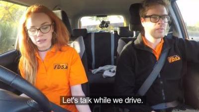 Приятные рабочие будни инструктора по вождению