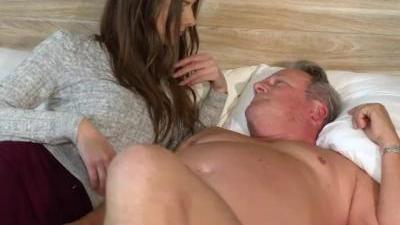 Русское порно дед и внучка. Секс видео русский дед с ...
